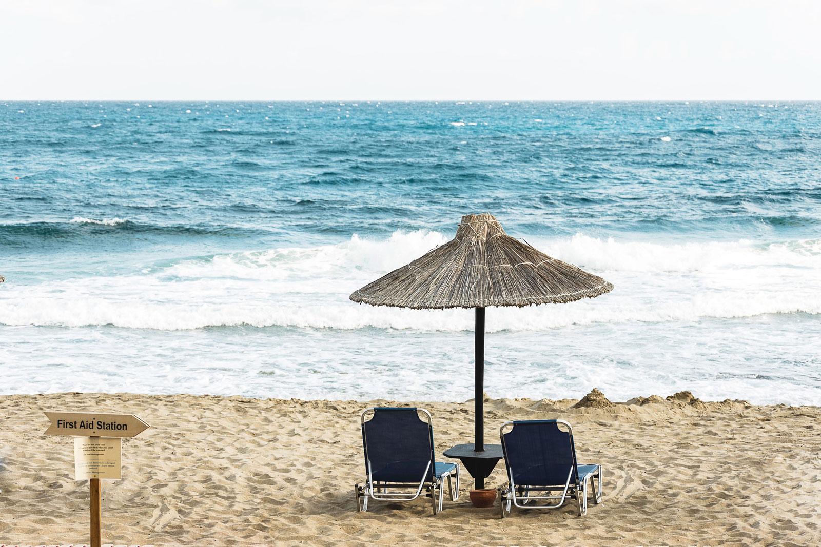 Ruhige und entspannende Ferienferien nach Kreta